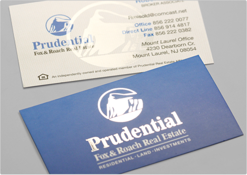 Business card design toi design prudential design critique this business card reheart Choice Image