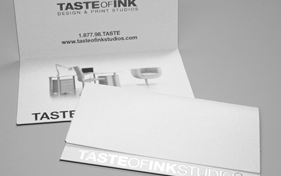 Taste of Ink Folded