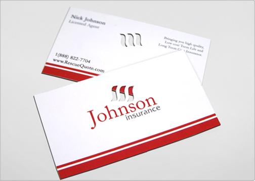 Johnson insurance design critique the johnson insurance business card colourmoves