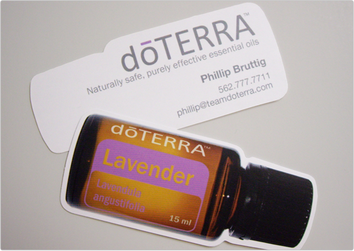 Doterra for Doterra business card template