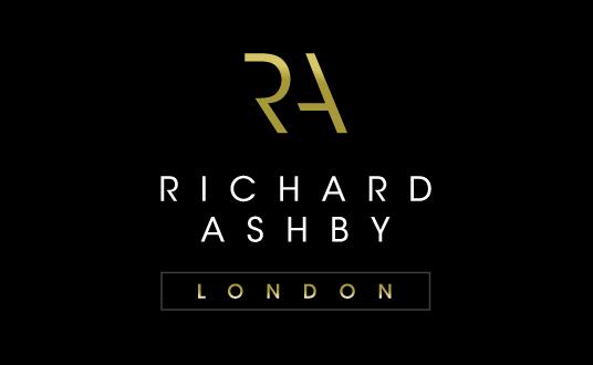 Modern logo design richard ashby logo brand specifications colourmoves Choice Image