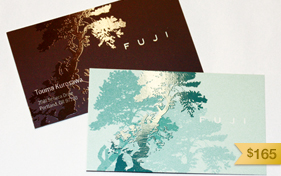 Fuji Business Card