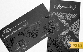 Apparition Stylist Business Card