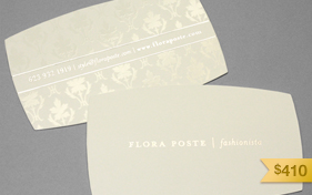 Flora Poste Business Card