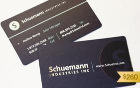 Schuemann Business Card