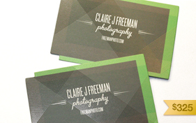 Claire Photography Business Card