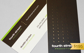 Fourth Stream Production Business Card