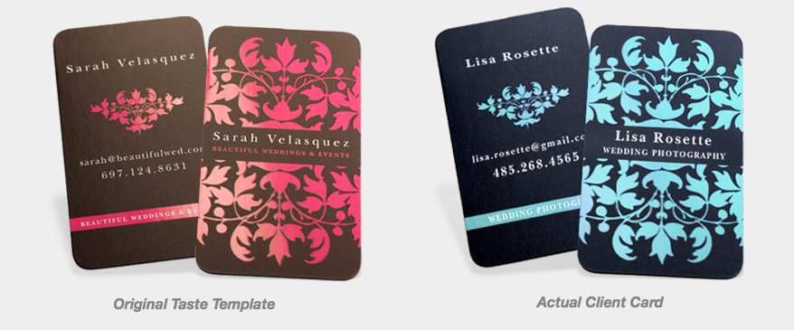 Business Card Templates Example 2