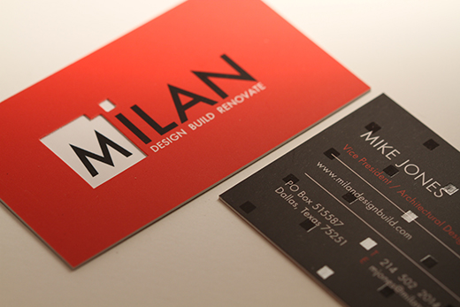 Modern Silk Business Card