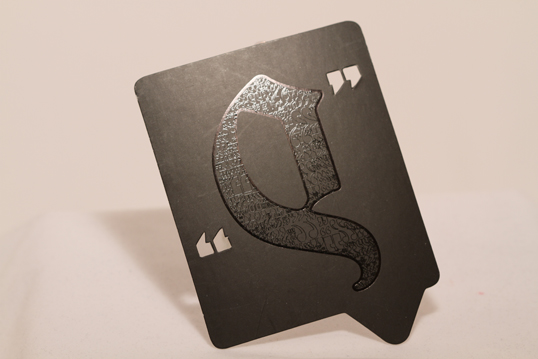 Square Die-Cut Business Card