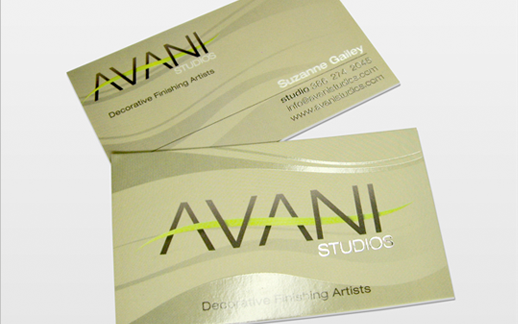 Avani Business Card Design