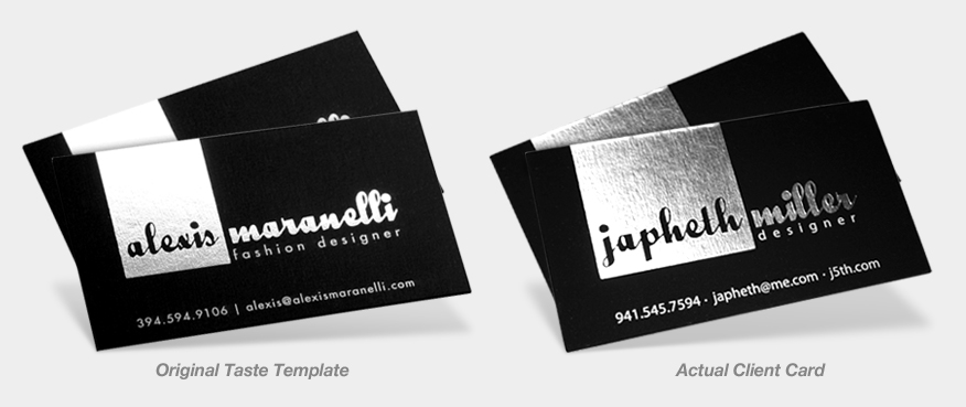 Business Card Templates Example 3