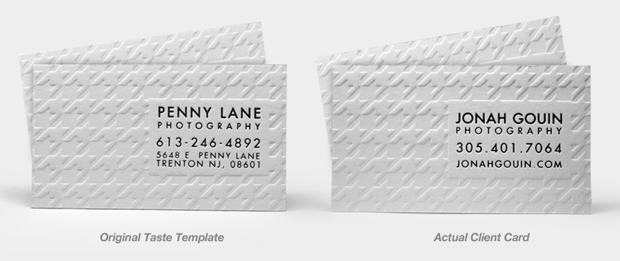 Business Card Templates Example 1