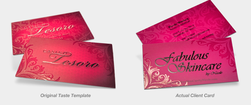 Business Card Templates Example 4