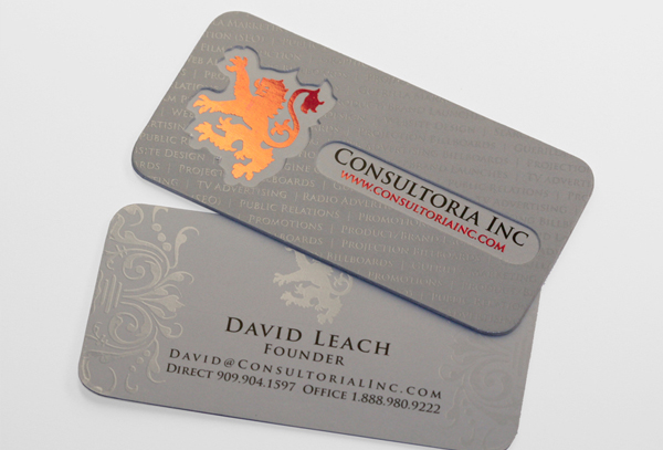 Thick Business Cards, Layer Cards - Taste of Ink