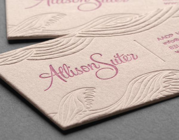 Cotton cards cotton business cards letterpress cards debossed cotton cards colourmoves