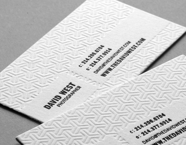 Cotton Cards | Cotton Business Cards | Letterpress Cards