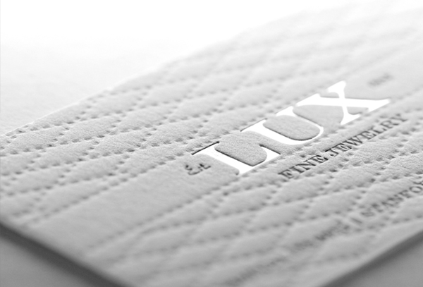 Lux Cotton Business Cards