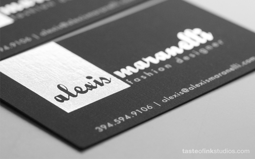 modern business card designer