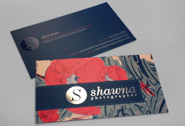 Business cards creating business shawna photographer business cards reheart Image collections
