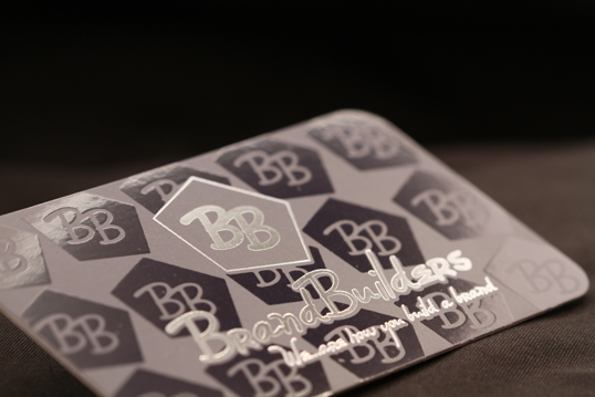 Silk Busines Card with spot gloss