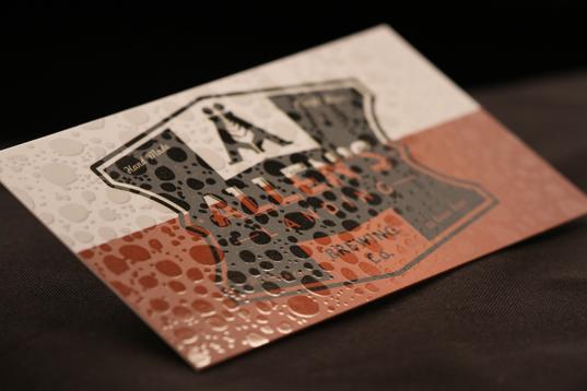 Spot Gloss on Silk Cards