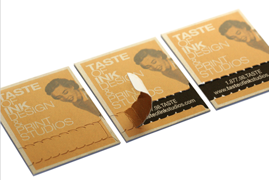 Unique Business Cards | Silk Business Cards | Taste of Ink