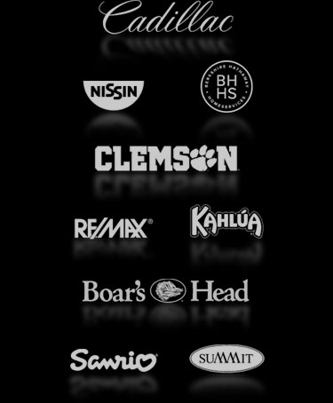 Trusted by these major brands