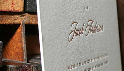 Round diecut luxury business cards